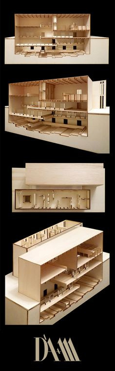 Model | Archaeological Museum | D'A+M architetti