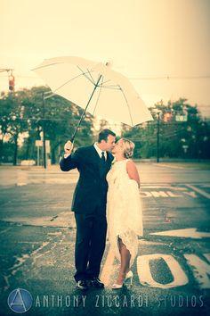 #rain #umbrella #photoshoot #brideandgroom #mrandmrs #happycouple #aziccardi #anthonyziccardistudios