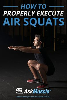 Having trouble learning air squats? Build a strong, solid set of legs by mastering the air squat and its other variations! Plyometric Workout, Plyometrics, Calisthenics, Leg Day Workouts, Fun Workouts, Men's Fitness, Fitness Goals, Lower Body Muscles, Squat Variations