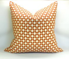 Betwixt pillow cover in Spark/Ivory - 20 x 20. $65.00, via Etsy.