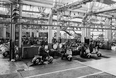 Piaggio factory test run