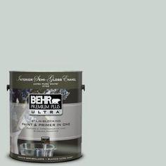BEHR Premium Plus Ultra 1-Gal. #PPU12-11 Salt Glaze  Interior Paint-375001