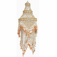 Ariel One Light Sea Shell Chandelier Seashell Chandelier, Mini Chandelier, Chandelier Lighting, Chandeliers, Ceiling Canopy, Ceiling Lights, House Furniture Design, Seashell Crafts, Swag Style