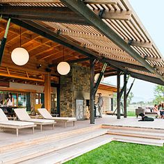 cedar deck...The new ranch home | Indoor-outdoor sensibility | Sunset.com