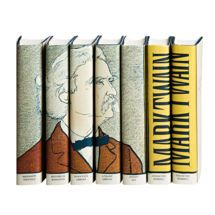 Mark Twain Portrait Set by Juniper Books