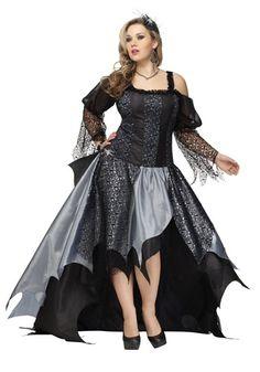 Plus Womens Spider Queen Costume
