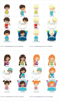 Need to help your toddler or preschooler with their bedtime routine? Check out this free set of printable bedtime routine cards.