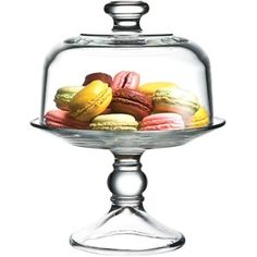 The Cellar Serveware, Cake Stand with Mini Dome
