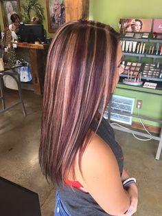 Hair by Trisha Browning at Fringe Salon. Lennon,MI #AvedaColor #FringeLennon #HairByTrishaBrowning