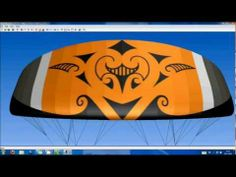 As a graphic tattoo designer I also like to fly powerkites. In this video you can see how I created a kite from scratch with a Maori inspired tribal tattoo d. Maori Art, Kites, Superhero Logos, Tribal Tattoos, Geometry, Teaching, Patterns, Stars, Math