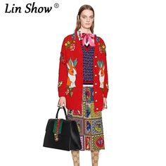 LINSHOW Animal Printed Long Sleeve Women Cardigan V-Neck Black Cashmere Sweater Woman Spring Party Club 2017 Womens Sweaters -  Buy online LINSHOW Animal Printed Long Sleeve Women Cardigan V-Neck Black Cashmere Sweater Woman Spring Party Club 2017 Womens Sweaters only US $45.39 US $39.94. This Online shop provide the information of finest and low cost which integrated super save shipping for LINSHOW Animal Printed Long Sleeve Women Cardigan V-Neck Black Cashmere Sweater Woman Spring Party…