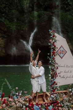 Talk about a backdrop! See more from this magical elopement on the blog. | Image by Kien's Collection Wedding Blog, Wedding Planner, Our Wedding, Destination Wedding, Planning A Small Wedding, Elopement Inspiration, Photography And Videography, Flower Decorations, Event Planning