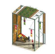 Pictures - Denver Farmers Market design competition - Architizer