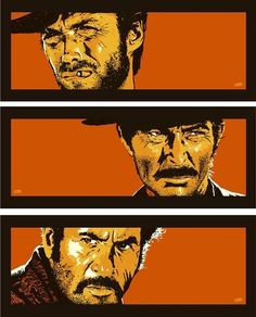 The Good, The Bad & The Ugly Art Print by Billy Perkins