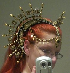Black and Gold headdress
