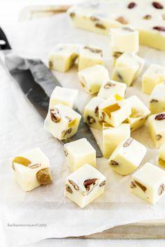fudge - in bianco - con zenzero candito