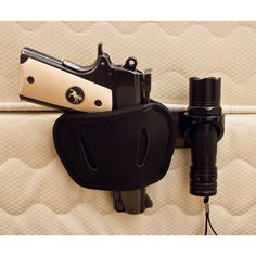 Pistol Holster & Bed Mount | Guns and Ammo | Sgt Grit - Marine Corps Store Home Defense, Self Defense, Rifles, Colt M1911, Pistol Holster, 1911 Holster, Leather Holster, By Any Means Necessary, Gun Storage
