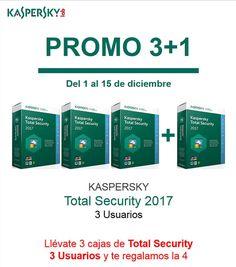 Promo 3 1 con Kaspersky