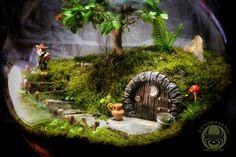 Rock rabbit house