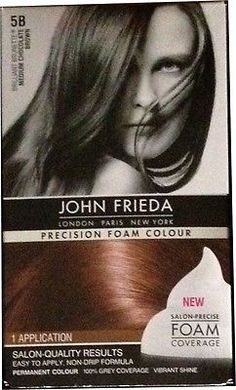 NIB John Frieda Precision Foam Hair Colour - Assorted Colours - NEW