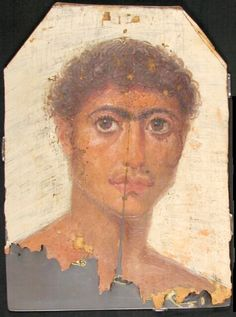 Mummy Portrait UC19609 -The Petrie Museum of Egyptian Archaeology, London.