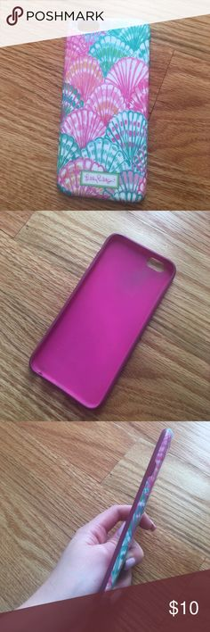 Lilly Pulitzer oh shello iPhone 6 6s case Gently used Lilly Pulitzer Accessories Phone Cases
