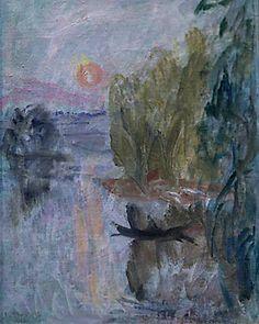 Ellen Thesleff: Kuutamo, Venematka 1934