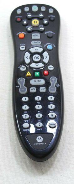 Motorola Remote Control Model MR043 #Motorola Side Dish, Remote, Store, Model, Recipes, Ebay, Storage, Scale Model
