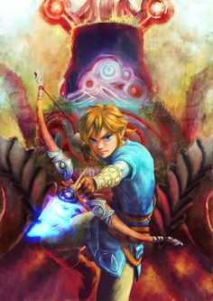 Link #WiiU fanart