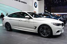 Primeurs autosalon Geneve 2013 ( BMW 3-serie GT )