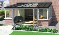 A Refresh Duo Conservatory Roof is an innovative solution for a combination of solid and glass roof panels to make it feel as though you have extended your home. Pergola Attached To House, Pergola With Roof, Pergola Shade, Patio Roof, Pergola Patio, Pergola Plans, Pergola Ideas, Backyard, Replacement Conservatory Roof