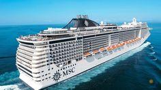 Корабль - MSC Fantasia, MSC Divina Направление: Европа