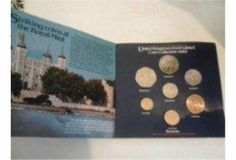 Complete British Coin Set from 1983 £15