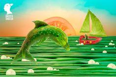 Vegetables seascape fine art photography print by DanCretuArt