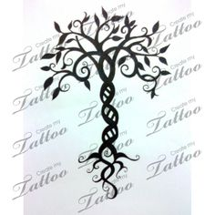 Whimsical Tree of Life | Tree of Life #13103 | CreateMyTattoo.com