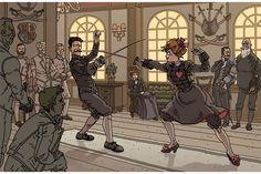 Art by Gael Bertrand, http://synthezoide.deviantart.com/