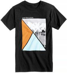 Quiksilver Men's Triangle Square Logo-Print T-Shirt