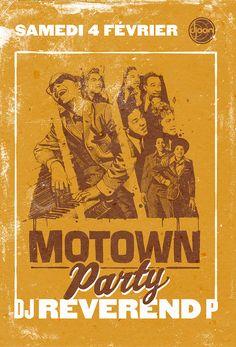 Motown Party by subgrafik