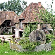 Beuvron en Auge - Calvados : une vieille ferme