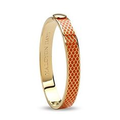 Halcyon Days DH Bangle 1cm Salam. Org/Gold