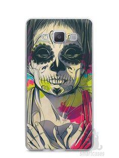 Capa Capinha Samsung A7 2015 Caveira Pintura - SmartCases - Acessórios para celulares e tablets :)