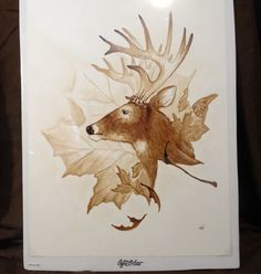 Tammie Wales is a talented and innovative artist who creates beautiful and unique paintings using coffee