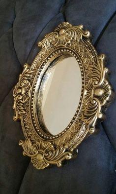 Espelho Moldura Veneziana Dourado