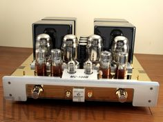 Yaqin MC100-B Chinese Integrated Tube Amplifier....solid build, buy from Song, Canadian ebay dealer with excellent reputation and waruntee, plus his insight. Amp loves 105-110v off a VARIAC, roll OUT to better 12AX7 and 6SN7 or other variant tubes of each, leave Shuguang KT88 rollout till last, sound fine as-is. Loves hi-eff 90db+ speakers, better pwr cord and interconnects....rediscover ALL your music...start with CDs, will need PHONO preamp for vinyl...again worth investment.