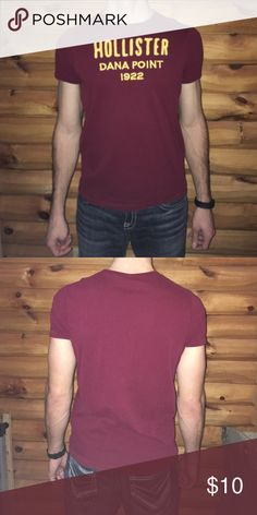 Hollister t shirt! Excellent used condition! Hollister Shirts Tees - Short Sleeve