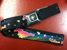 Mustang Pony Girl Seat Belt Belt