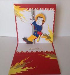 kirigami sam le pompier
