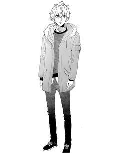Mamura Daiki Hirunaka no Ryuusei He is so cute! This manga is awesome daytime shooting star ひるなかの流星 Manga Anime, Me Anime, Manga Boy, Anime Chibi, Anime Love, Anime Art, Mamura Daiki, Neko, Daytime Shooting Star