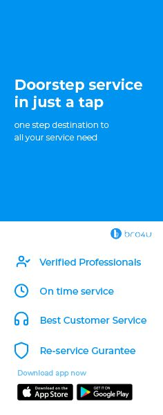 Hire Professionals and Get Local Services Online App Store Google Play, First Step