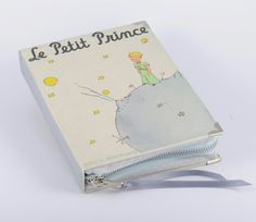 Le Petit Prince Book Clutch in Grey http://www.etsy.com/listing/106272495/le-petit-prince-book-clutch-in-grey